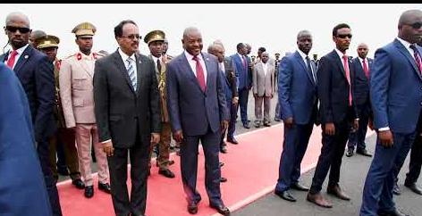 Madaxweynaha JFS oo gaaray Burundi (Daawo)