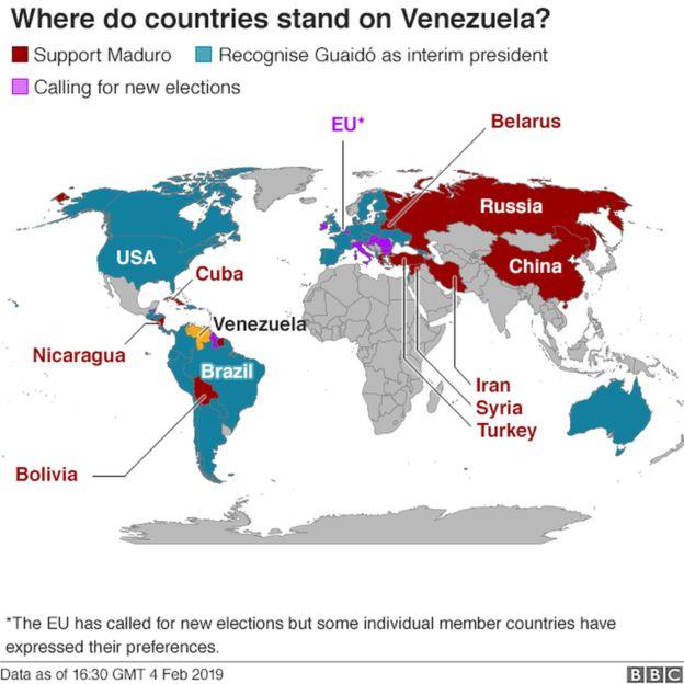 Madaxwaynaha Venezuela oo ka digay dagaal sokeeye oo dalkiisa uu galo