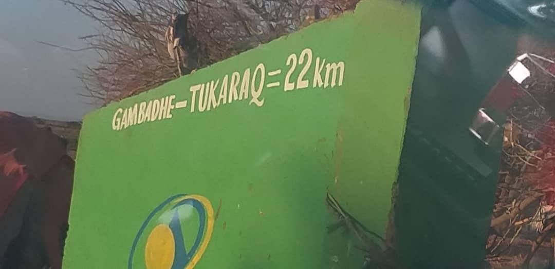 Waasidee xaalada deegaanka Turkaraq (Sawiro)