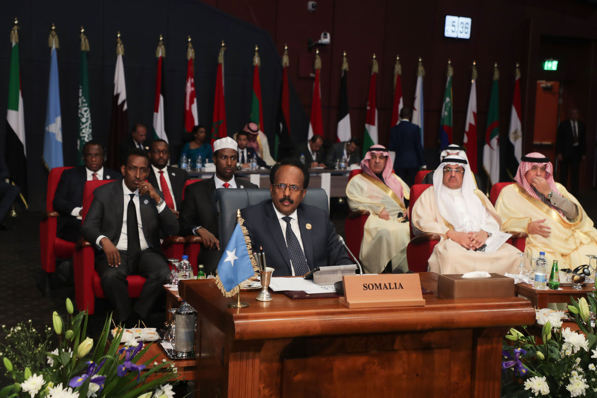 President Farmajo's Speech at the LAS-AU Summit