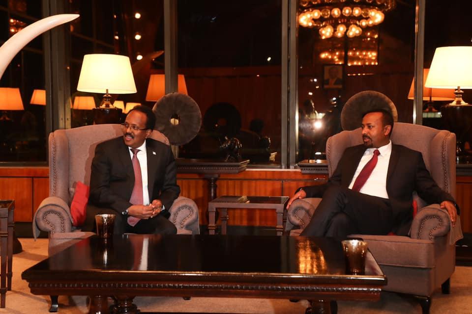 Somaliland oo war ka soo saartay Kulankii Farmaajo & Abiy Axmed