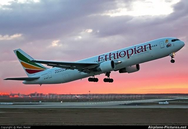157 qof  oo ku dhintay Diyaarad Ethiopian Airlines ee burburtay