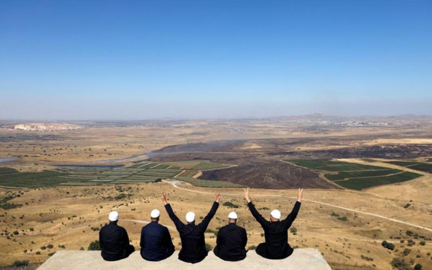 Maxaa Kajira in Maraykanka u aqoonsanaya Buuraha Golan Heights dhul ay Yuhuudu leedahay