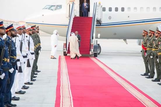Madaxweynaha Somaliland oo  Abu Dhabi gaaray (sawiro)