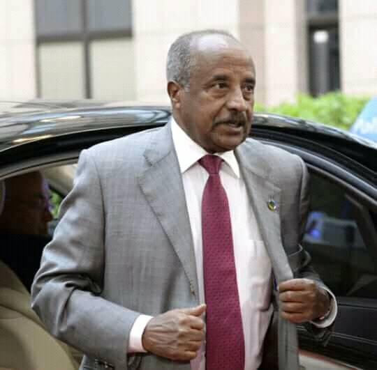 Wasiirka Arrimaha Dibadda Eritrea oo ka degay magaalada Hargeysa
