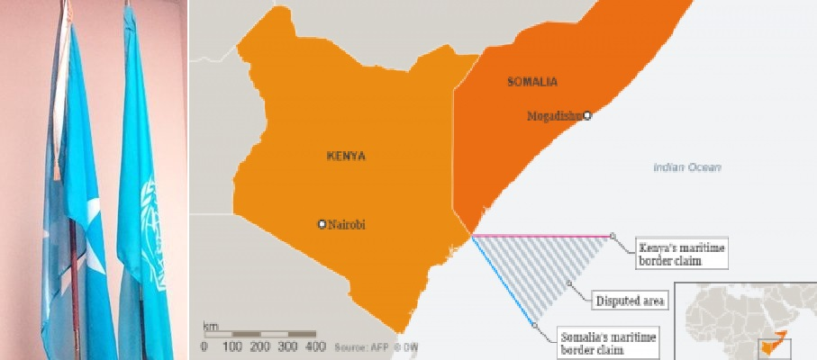 "Somalia Mission to the UN: ""The maritime boundary dispute between Somalia and Kenya is pending before the ICJ"""
