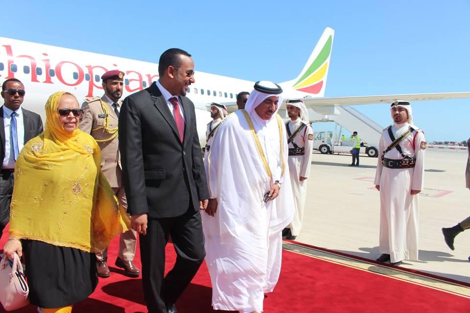 Abiy Axmed oo safar ku tagay dalka Qatar