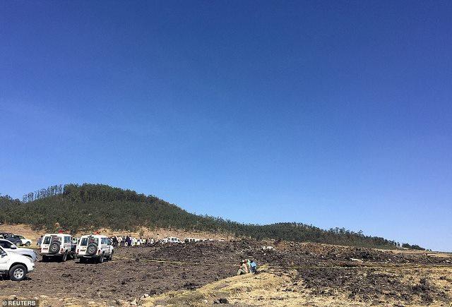 Sanduuqa Madow ee diyaaradii ku burburtay Ethiopia oo la helay