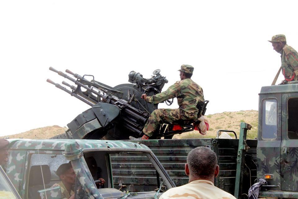 Ciidamo ka tirsan Somaliland oo la wareegay degaanka Yube ee gobalka Sanaag (Daawo)