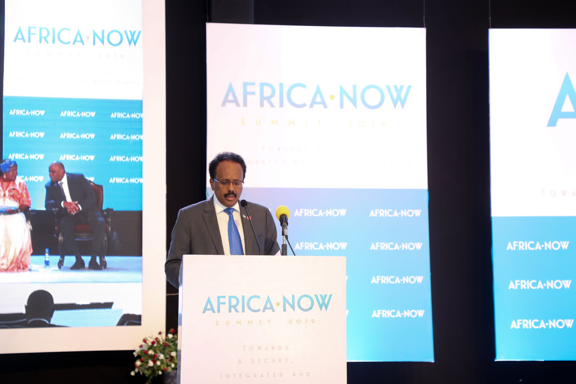 President Farmajo's Keynote Speech at Africa Now Conference