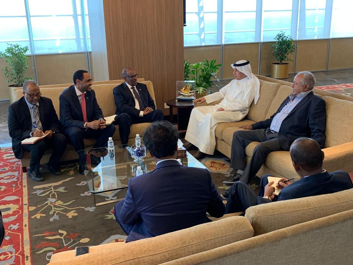 Wasiirka waxbarashadda Somaaliya oo la kulmay dhigiisa Kuwait