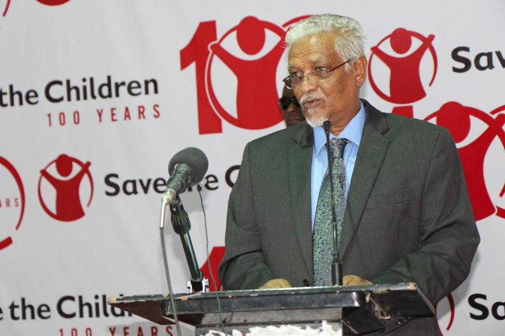 Madaxweyne Ku-xigeenka Puntland oo Ka qayb-galay Xafladda Sanad Guurada Hay'adda Save The Children.