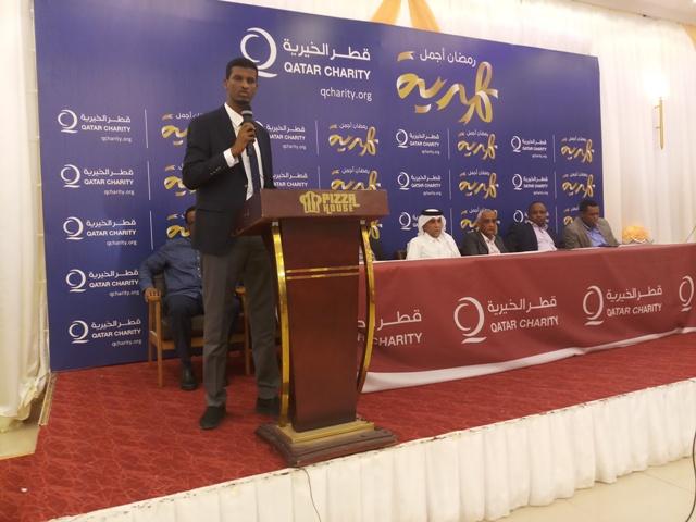 Hay'adda Qatar Charity oo daah furtay masharuuc lagu afurinayo 1100 kun oo qof guud ahaan dalka