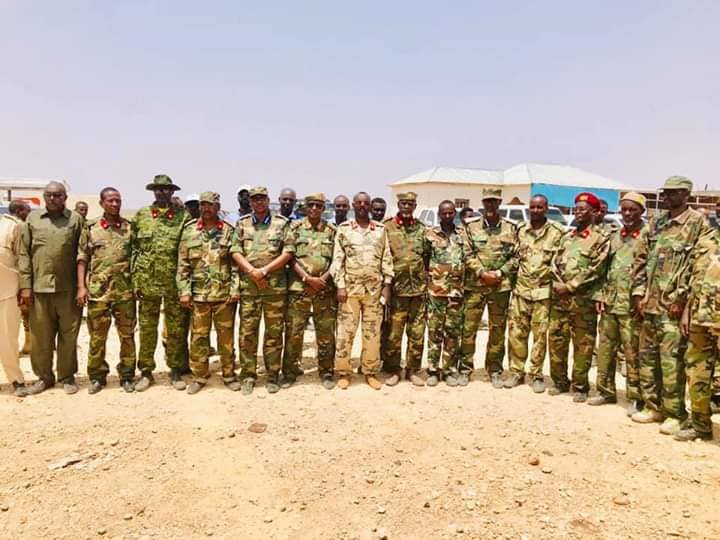 Garoowe oo lagu soo dhaweyeey Saraakil horey uga soo goostay Somaliland (Daawo)