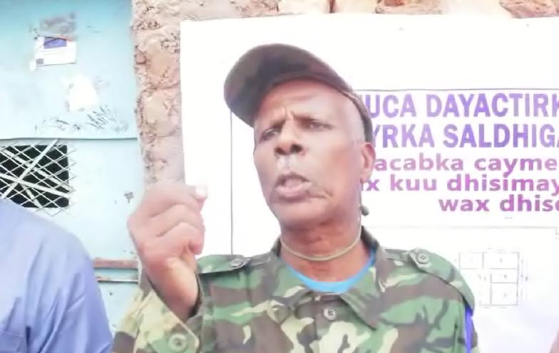 Askar Musharkooda ku dayactiraya saldhig Ciidan (Daawo)