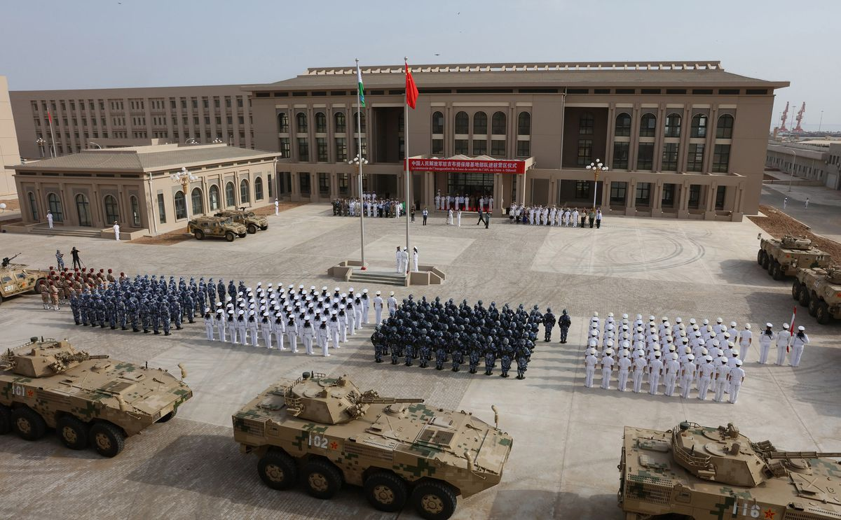 Parting the Red Sea: Why the Chinese and U.S. armies are fortifying this tiny African country