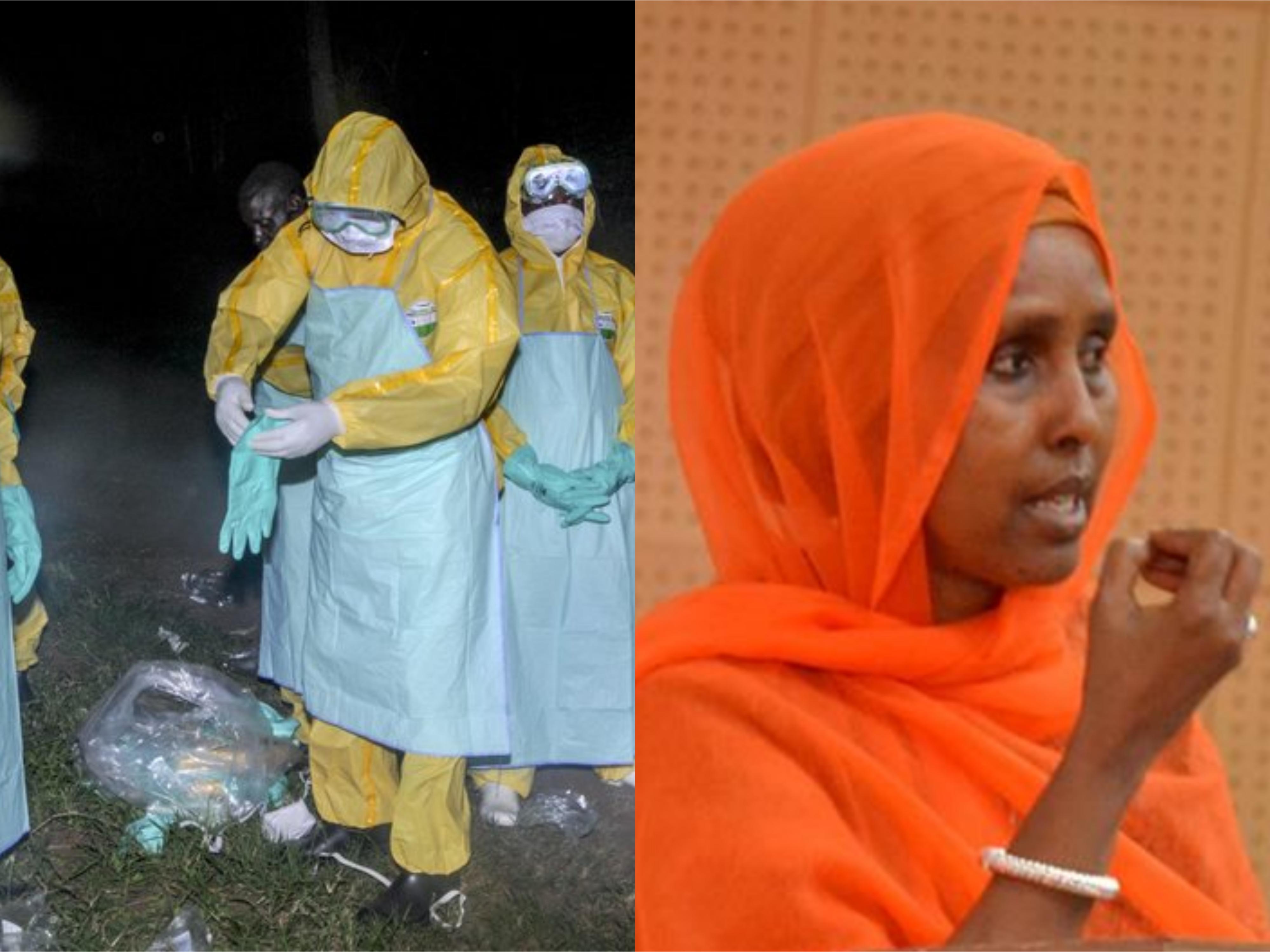 Dowladda somaaliya oo ka walacsan cudurka Ebola (Daawo)