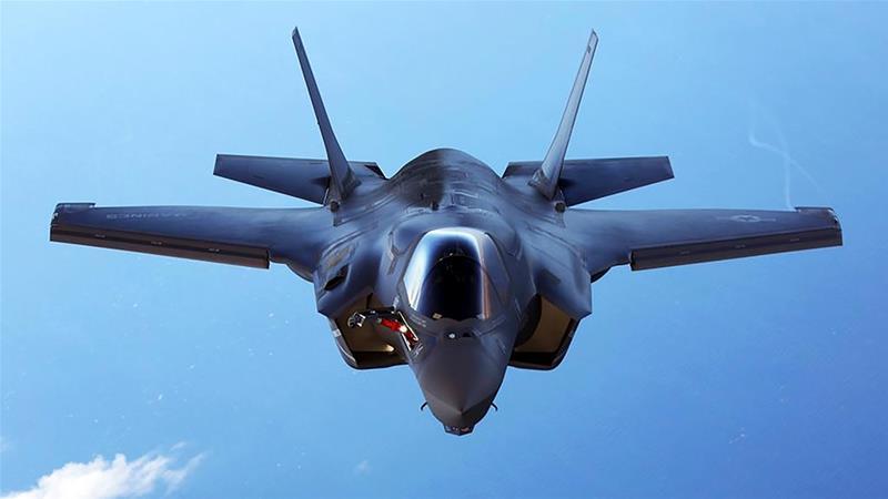 Mareykanka oo ka baxaya heshiiskii Turkiga ee diyaaradaha F-35
