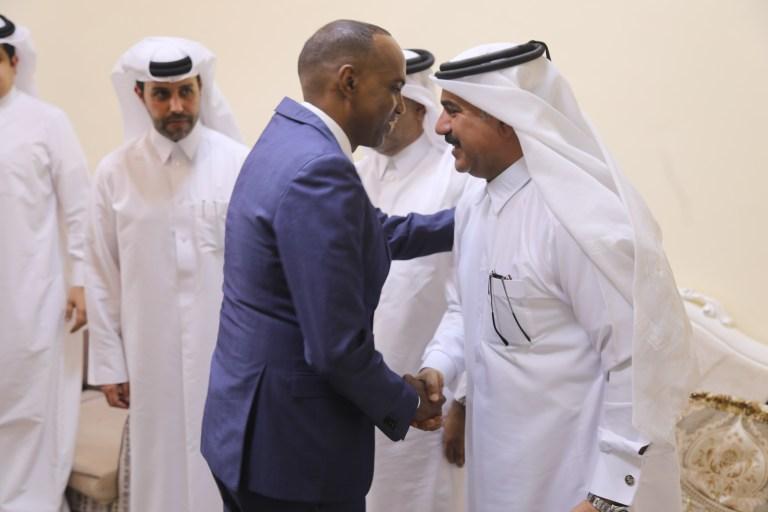 Ra'iisul Wasaare Khayre oo Dhuusamareeb Ku Qaabilay Wafdi Ka Socda Wasaaradda Difaaca Qatar