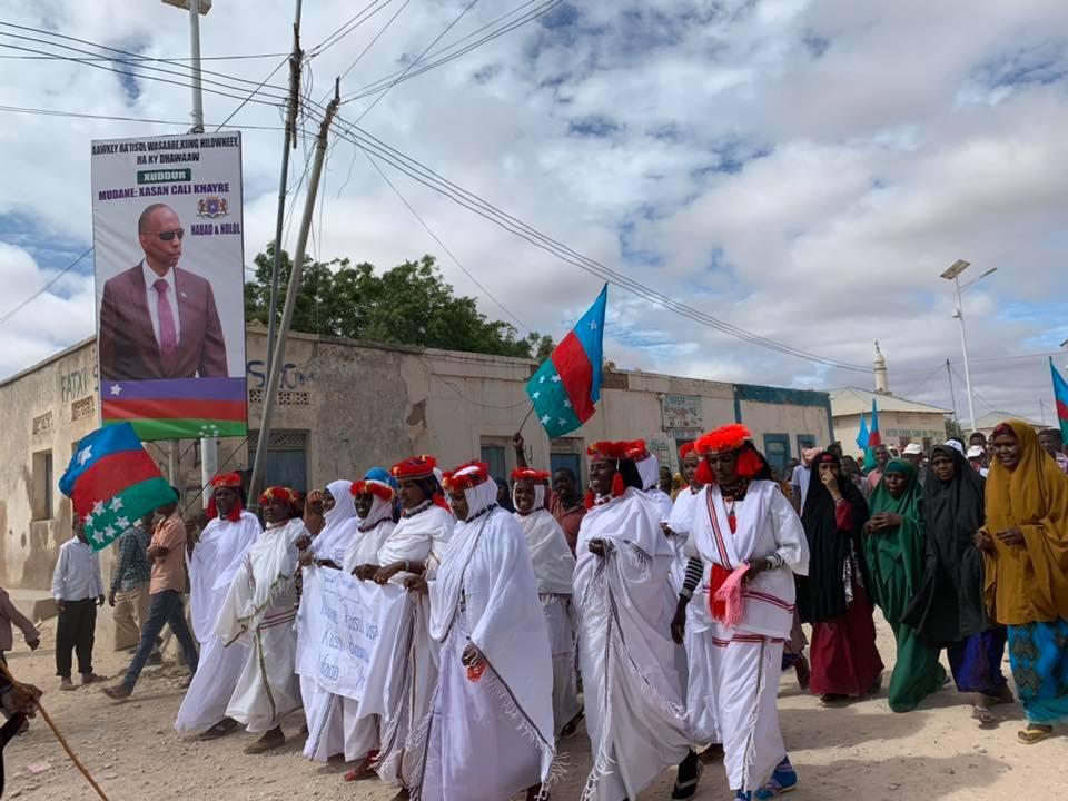 Kheyre oo ku wajahan degmada Xudur ee gobolka Bakool (Sawiro)