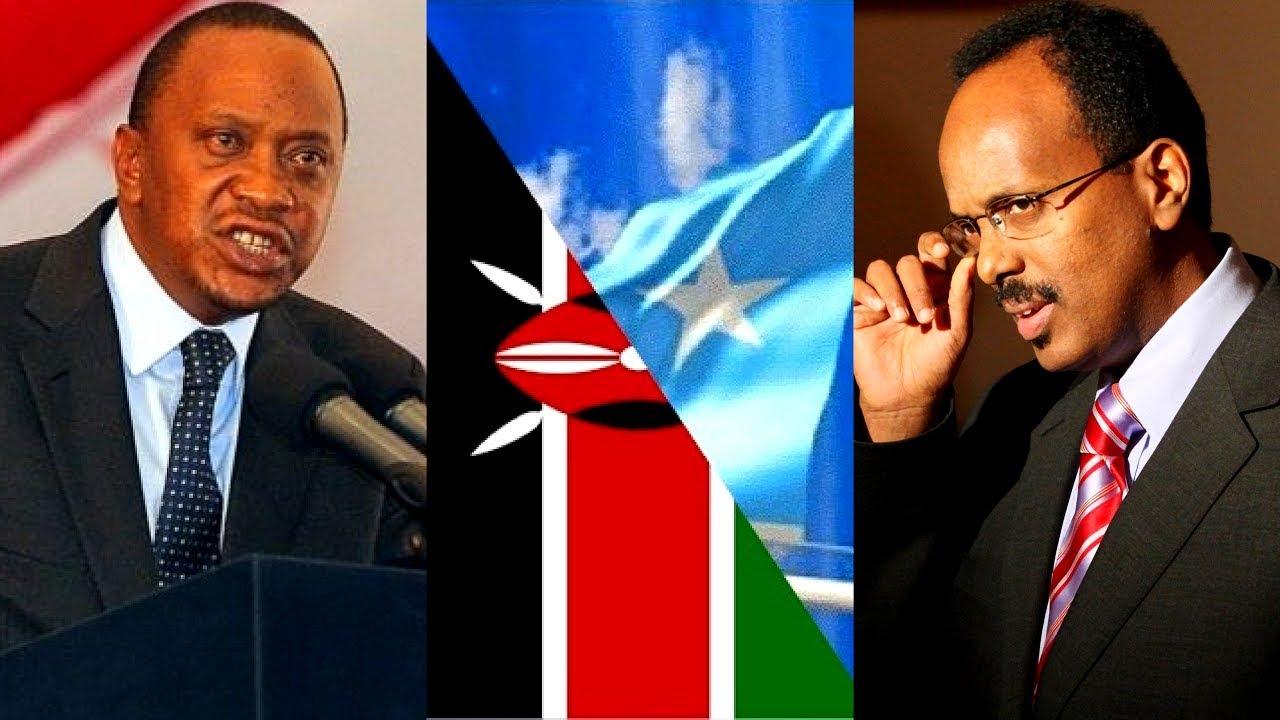 Kenya oo hanjabaad hawada u marisay Somaaliya