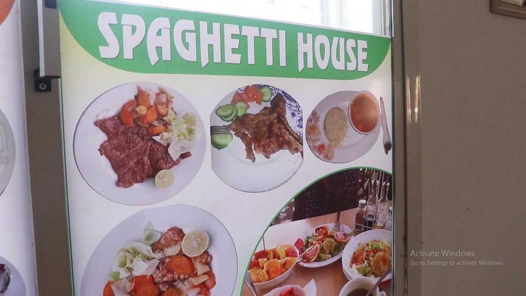 SPAGHETTI HOUSE  GAROOWE & Cuno Fresh ah