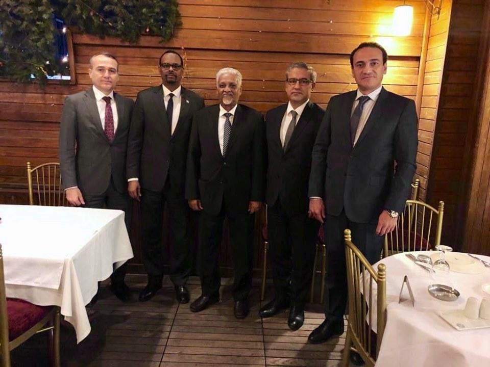 Madaxweyne Ku-xigeenka Puntland oo Ka Qayb Galay Casho Sharaf uu u Sameeyey Safiirka Soomaaliya u Fadhiya Turkiga.
