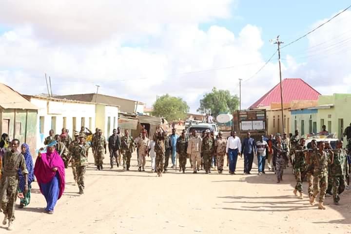 150 Askari oo ka soo goostay Somaliland oo lagu soo haweeyay degmada Ceelbuh (dhegayso | daawo)