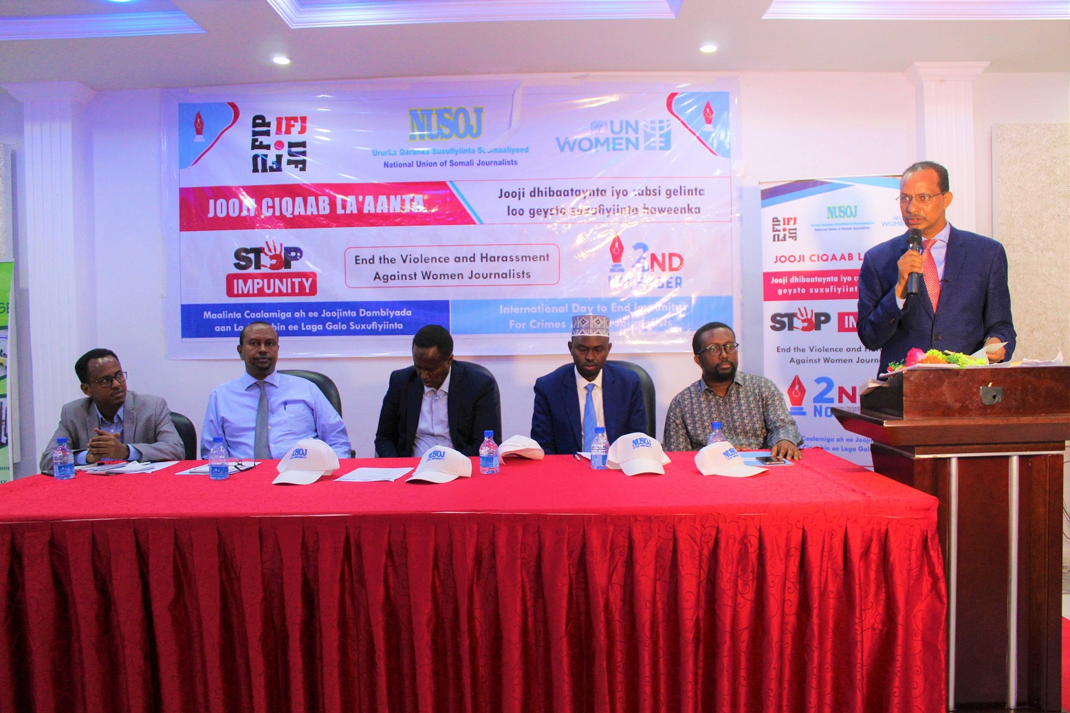 Somali Journalists Join the Rest of the World to Mark International Day to End Impunity for Crimes Against Journalists