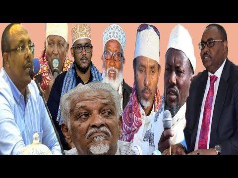 MAANHADAL: Xilkaqaadistii Guddoomiye Dhoobo Daareed & Sharci Ahaansheeda (dhegayso)