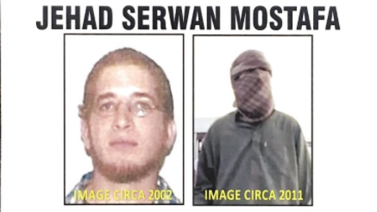 Mareykanka oo oo $5Milyan duldhigay Jehad Serwan Mostafa oo Al-shabaab ka tirsan