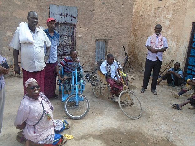 Barnaamijka Muuqaalka Bulshada, Xaalada Naafada Puntland (daawo)