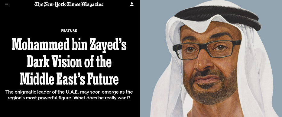 Mohammed bin Zayed's Dark Vision of the Middle East's Future