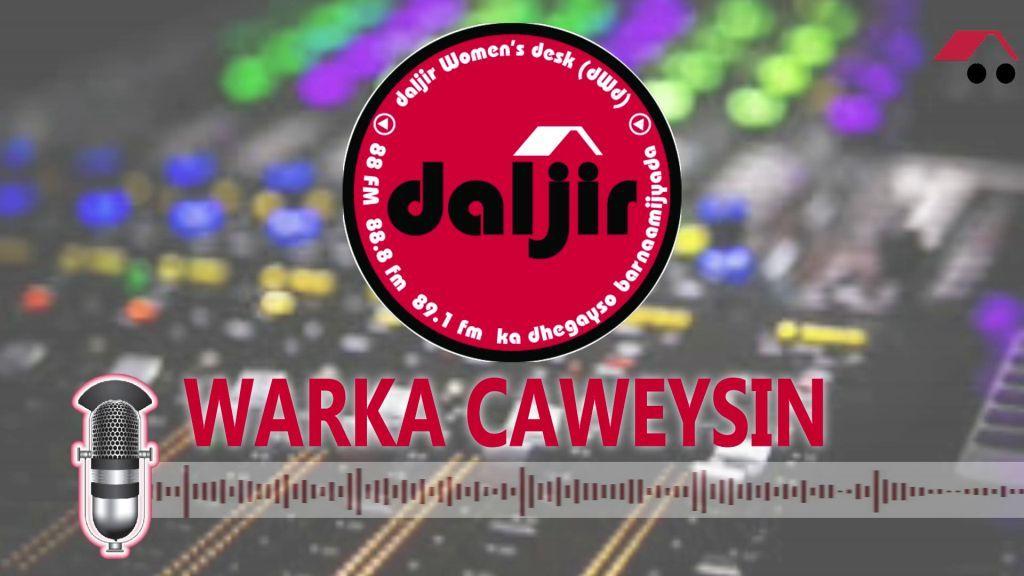Warka Caweysin, Cabdixakiin Xuseen Xasan, Daljir Garoowe (dhegayso)