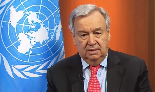 UN SECRETARY GENERAL: APPEAL FOR GLOBAL CEASEFIRE