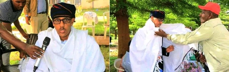 Mustafe Cagjar oo booqanaya Gobolka Boran ee kililka Oromiya