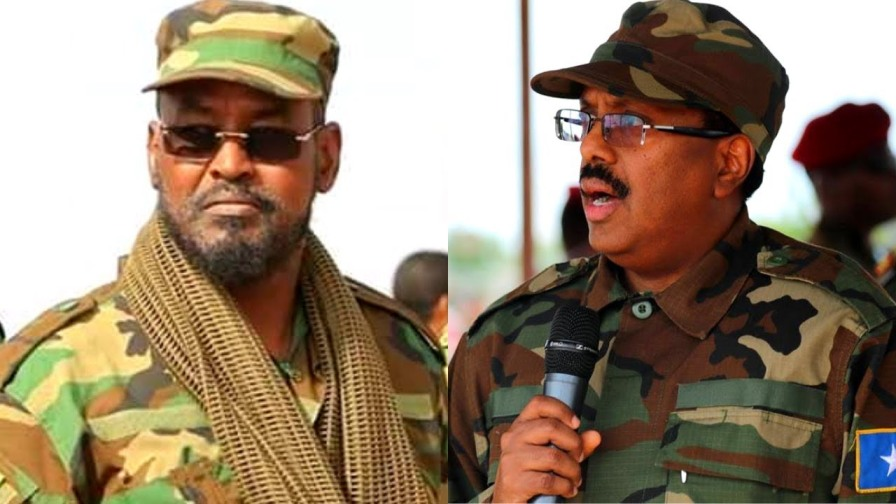 Laaluush, Ballanqaad, Ciidan kala Wareejin iyo Fashil Cusub oo soo Foodsaaray Villa Somalia