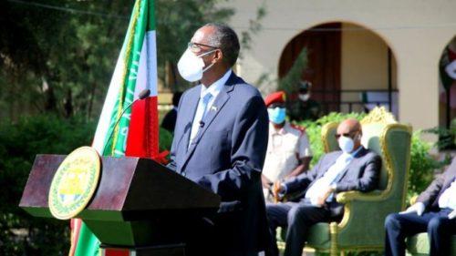 Somaliland oo laga ciiday iyo Madaxweynaha Maamulkaas oo khudbad jeediyeey