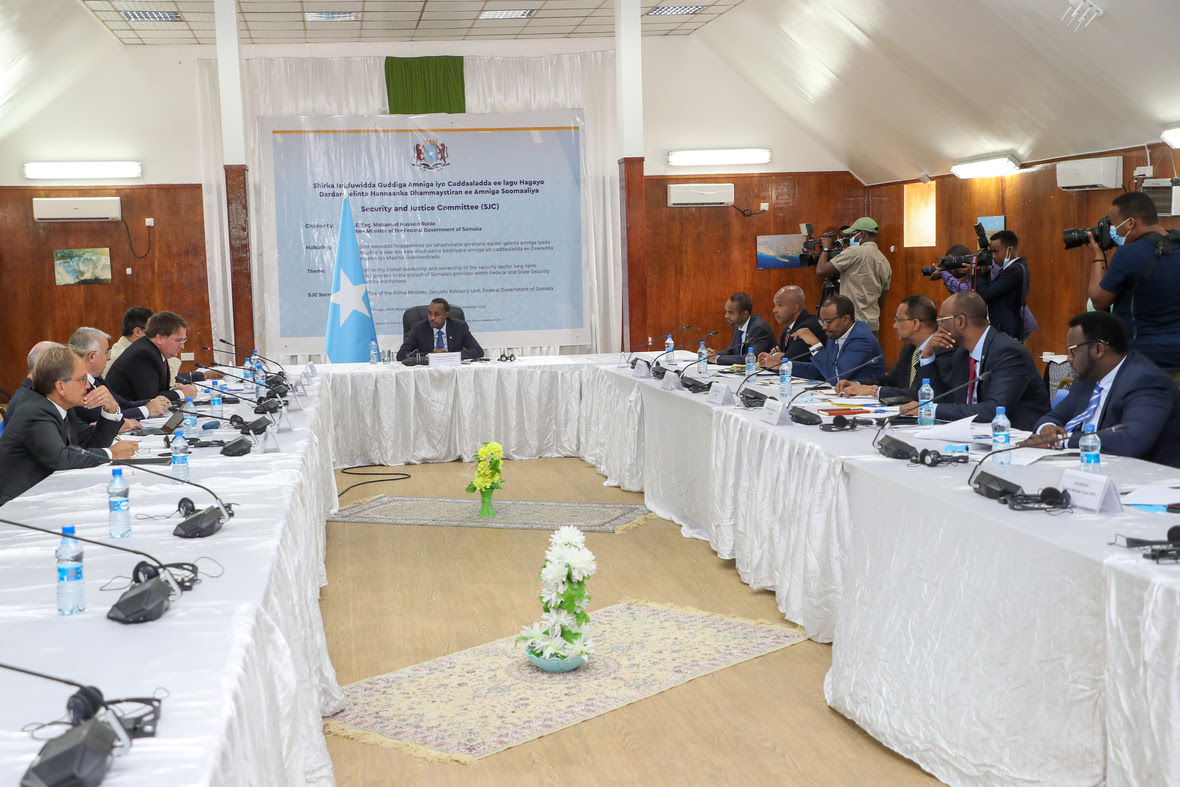 SECURITY AND JUSTICE COMMITTEE MOGADISHU