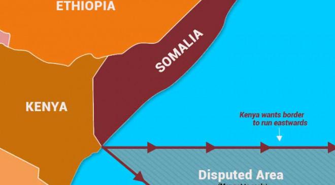 Maritime border dispute between Somalia and Kenya