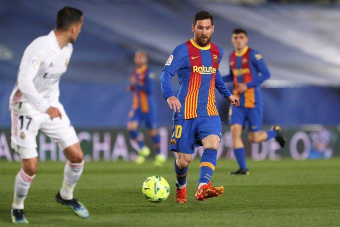 Real Madrid oo Barcelona afka ciidda u dartay (daawo)