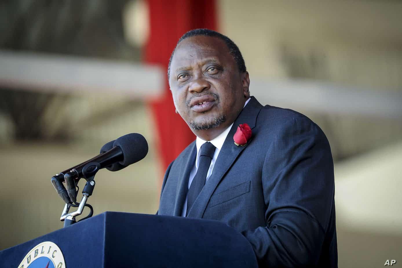 """Madaxweyenaha Kenya: """"Cidna kama aqbaleyno in ay sheegato lahaanshiyaha qeyb ka mid ah dhulkeena"""