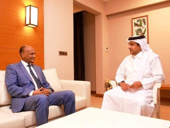 Maxay ka wada hadleen Mahdi Guuleed & Ergeyga gaarka ah ee Dowladda Qatar Dr Mutlaq al-Qahtani?