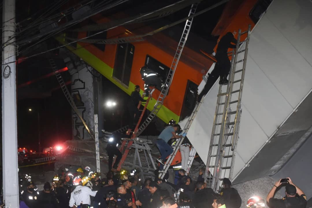 23 qof oo ku dhimatay shil Tariin oo ka dhacay Caasimada wadanka Mexico ee Metro