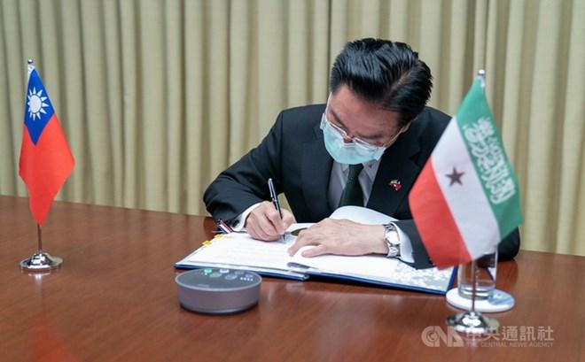 Somaliland & Taiwan oo heshiis kala saxiixday