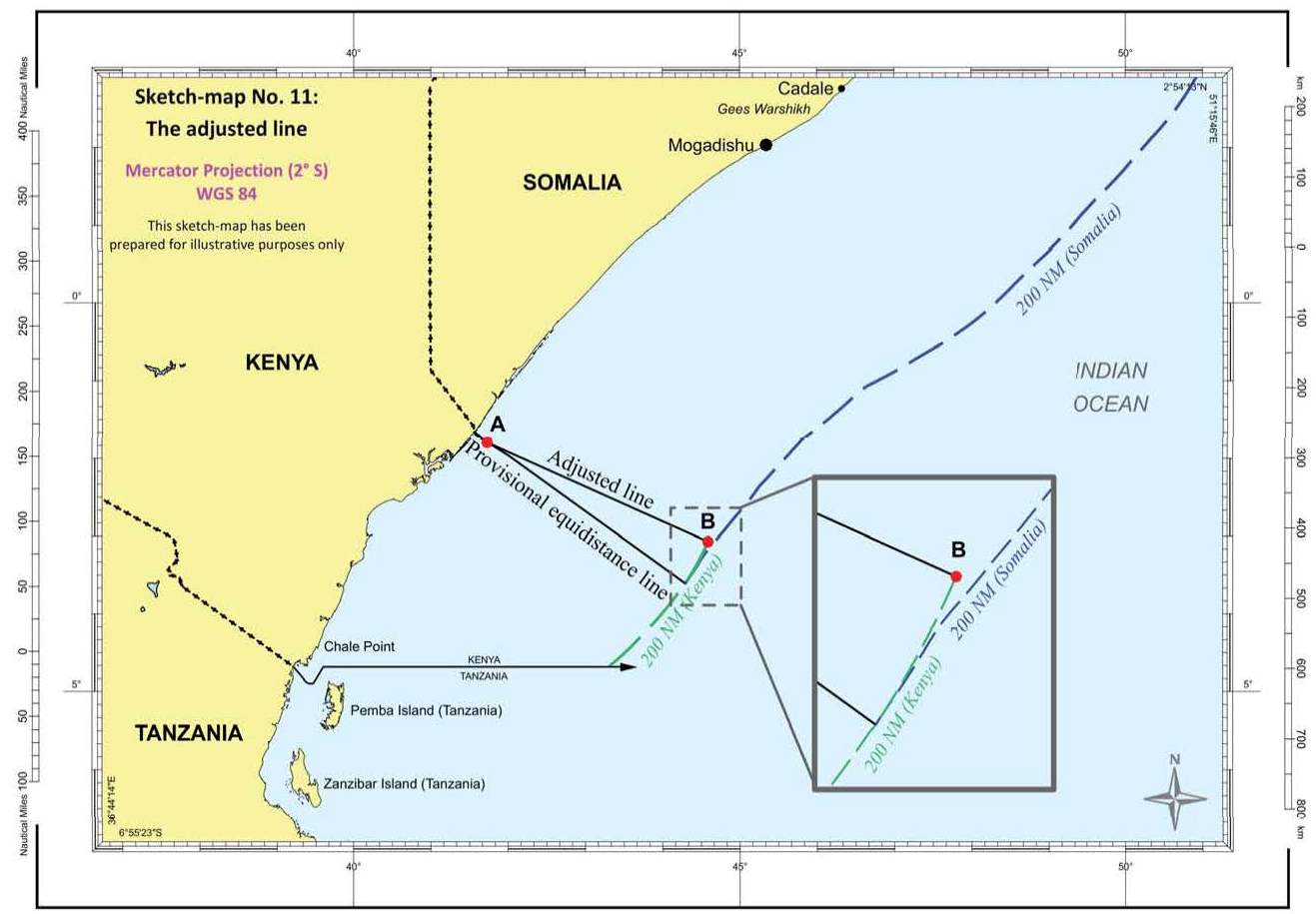 12 OCTOBER 2021 JUDGMENT MARITIME DELIMITATION IN THE INDIAN OCEAN (SOMALIA v. KENYA)
